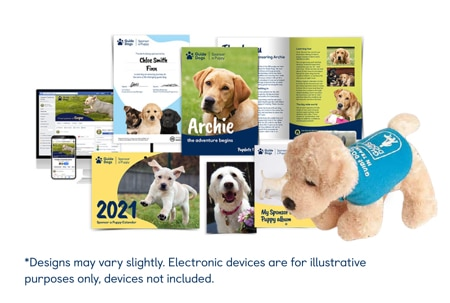 Sponsor a Puppy Gift Pack